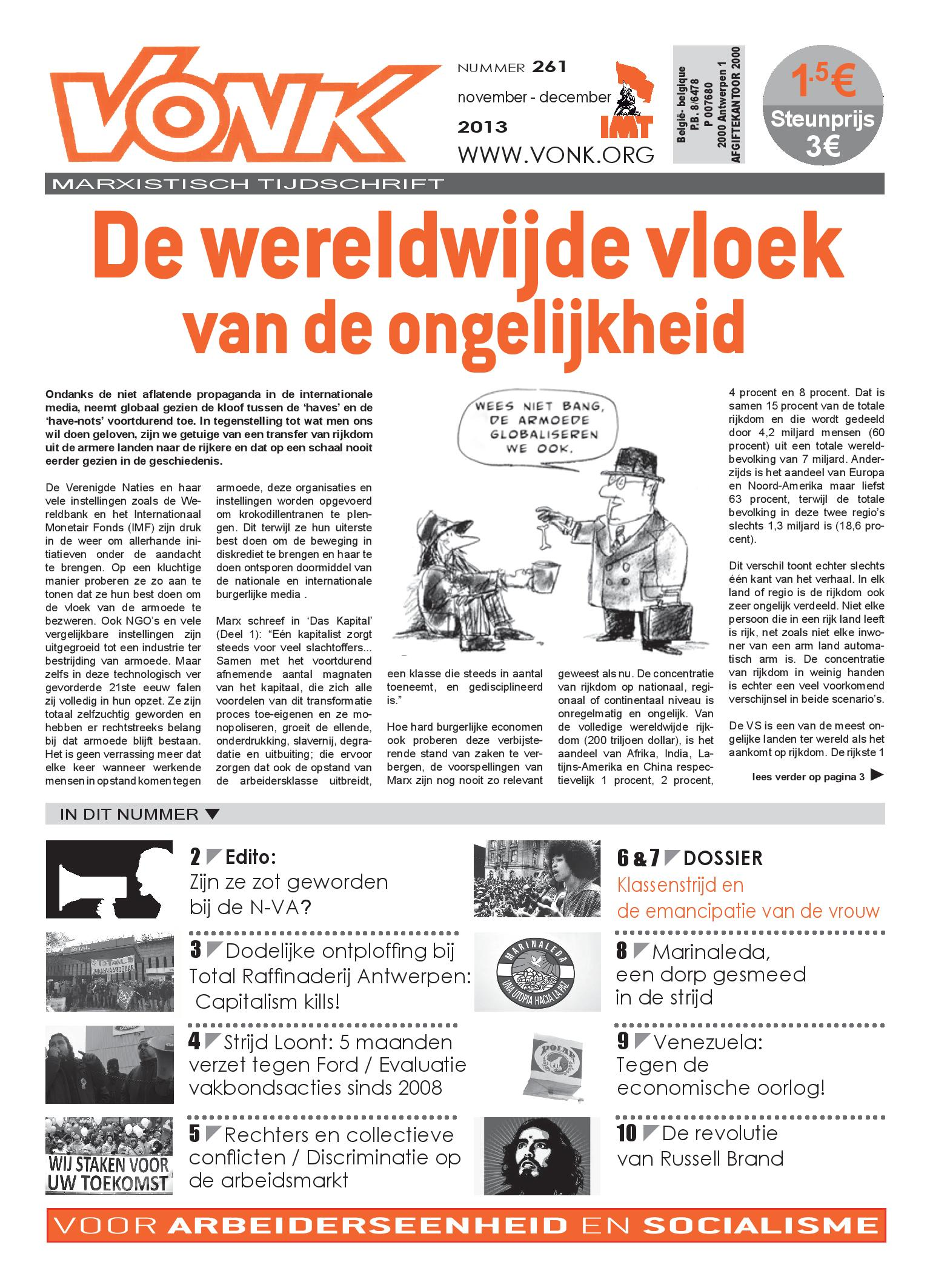 Cover Vonk 261 november-december 2013 -page-001